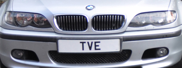TVE Number Plate
